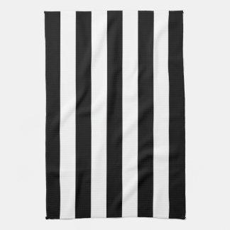 Black Awning Stripe Tea Towel