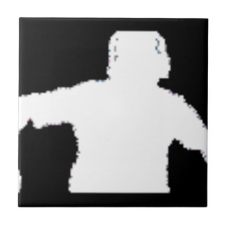 black background DJNV merchandise collection Tile