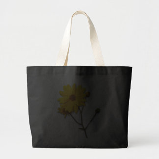 Black bag with yellow flower