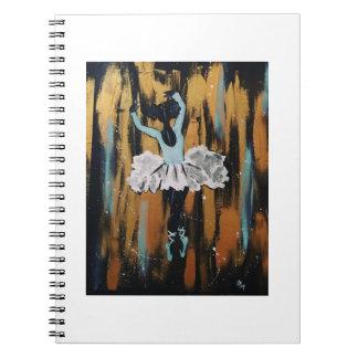 Black Ballerina Notebook