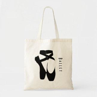 Black Ballet Shoes En Pointe