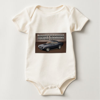 Black Barracuda.jpg Baby Bodysuit