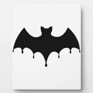 Black Bat Plaque