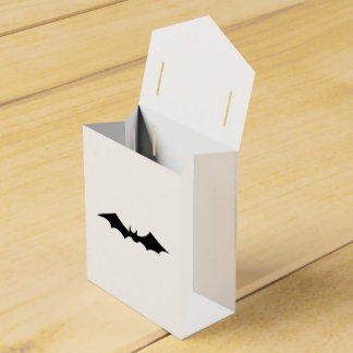 Black Bat spooky image Favour Box
