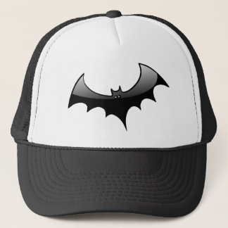 Black Bat Trucker Hat