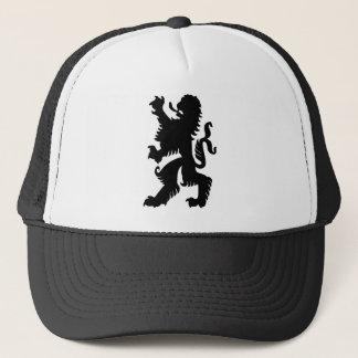 Black Bavarian Lion Trucker Hat
