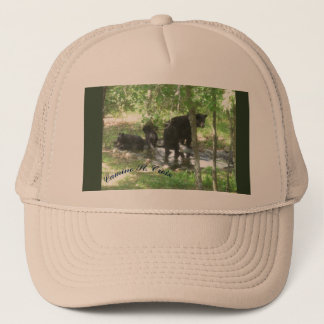 Black Bear and Cubs Camino St Croix Trucker Hat