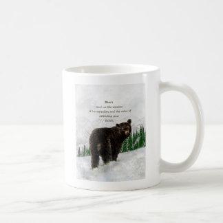 Black Bear Animal totem Inspirational Spirit Guide Coffee Mug