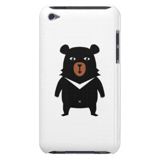 Black bear cartoon iPod touch Case-Mate case