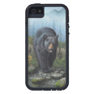 Black Bear Cover For iPhone 5