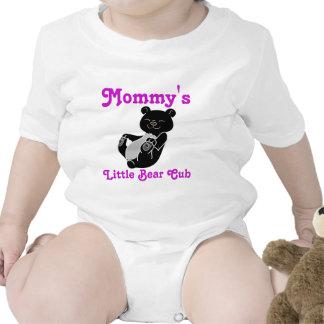 Black Bear Customizable Kids Shirt - Pink Text