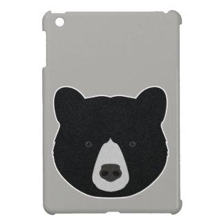 Black Bear Face Cover For The iPad Mini