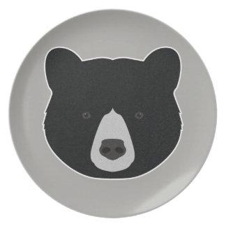 Black Bear Face Plate