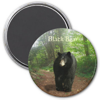 BLACK BEAR Forest Nature Magnet