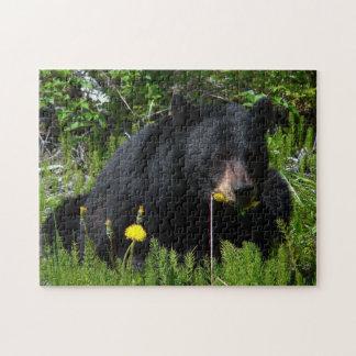 Black Bear Jigsaw Puzzle