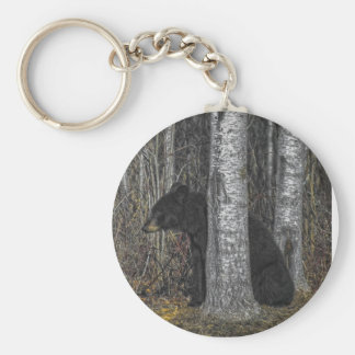 Black Bear Key Ring