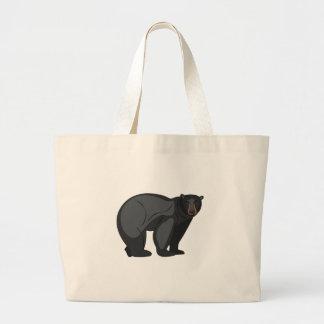 Black Bear Large Tote Bag