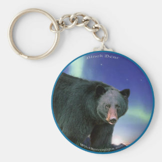 BLACK BEAR Painting Key Ring