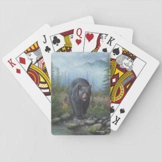 Black Bear Playing Cards