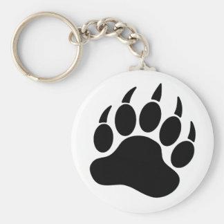 Black Bear Pride Bear Claw (R) Key Ring