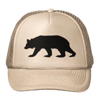 Black Bear Silhouette Cap