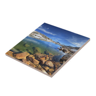 Black Bear Tarn - Sierra Ceramic Tile