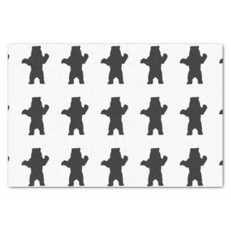 Black Bear Tissue Paper