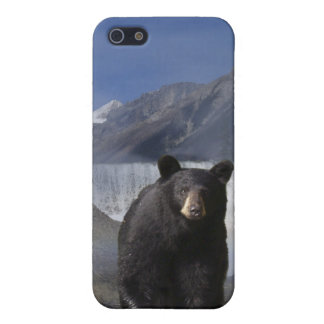 Black Bear Wildlife Supporter iPhone 4 Case