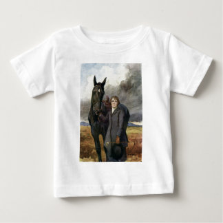 Black Beauty - She Chose Me For Her Horse Baby T-Shirt