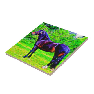 Black Beauty Small Square Tile