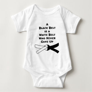 Black Belt Baby Bodysuit