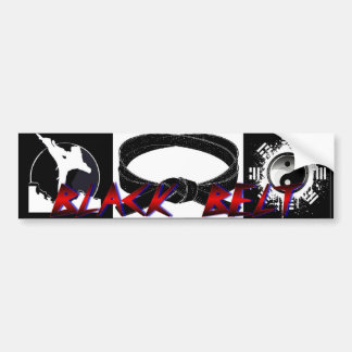Black Belt Bumper Sticker