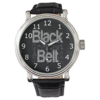 Black Belt Extraordinaire Watch