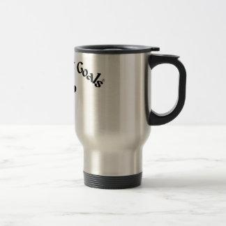 Black Belt Goals 15 Oz Stainless Steel Travel Mug