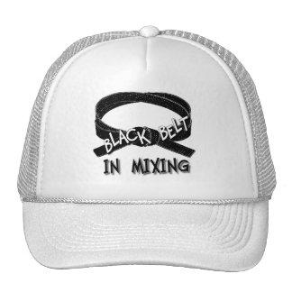 Black Belt In Mixing - Baseball Cap Hats