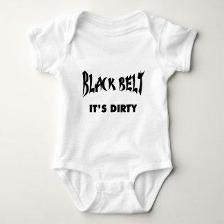 BLACK BELT - IT'S DIRTY (Lights) Baby Bodysuit