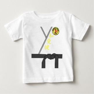 Black Belt Uniform Karate Master Halloween Costume Baby T-Shirt