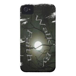 Black Berry case, Walk by Faith. iPhone 4 Case