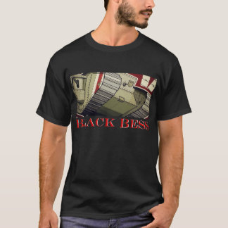 !! BLACK BESS !! BATTLEFIELD 1 STYLE Men's T-SHIRT