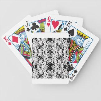black bicycle playing cards