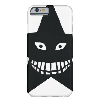 black big grin star barely there iPhone 6 case