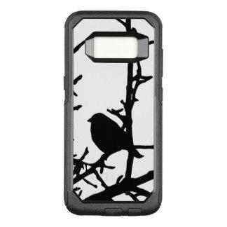 Black Bird Animal OtterBox Galaxy S8 Case
