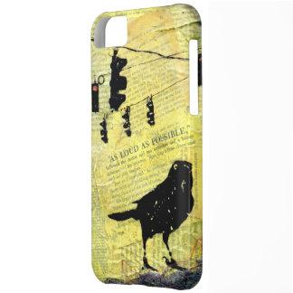 Black Bird LOUD Stop Light iPhone 5C Case