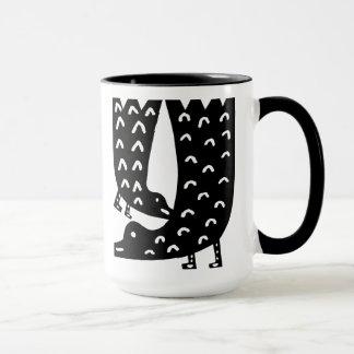 Black Birds Mug