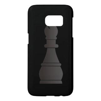 Black bishop chess piece