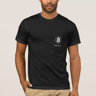 Black Bitcoin Shirt
