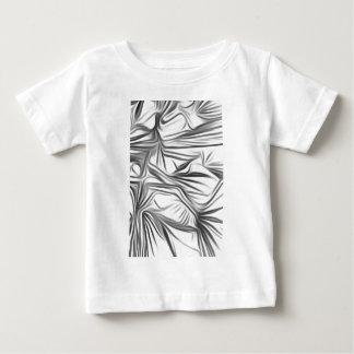 Black blank prints Black White prints plant Baby T-Shirt
