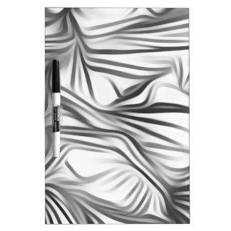 Black blank prints Black White prints plant Dry-Erase Whiteboards