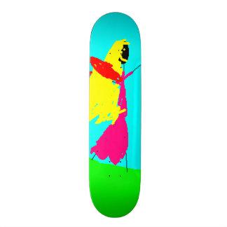 Black Blond Fairy, Kids Art, Funny Skateboard