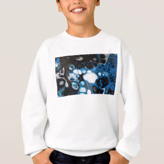 Black & Blue Bubbles Sweatshirt